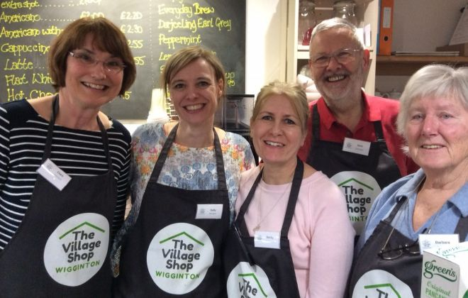 LEADER helps to launch Wigginton Village Shop