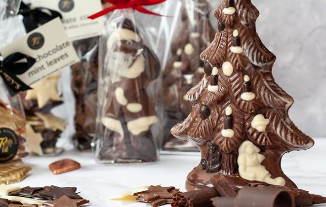 Rumsey's chocolate Santa hits top spot thanks to grant