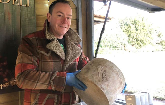 Artisan cheese helps No2 Pound Street diversify and create jobs