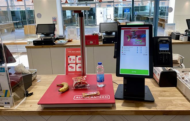 Autocanteen target catering firms with AI self-checkout