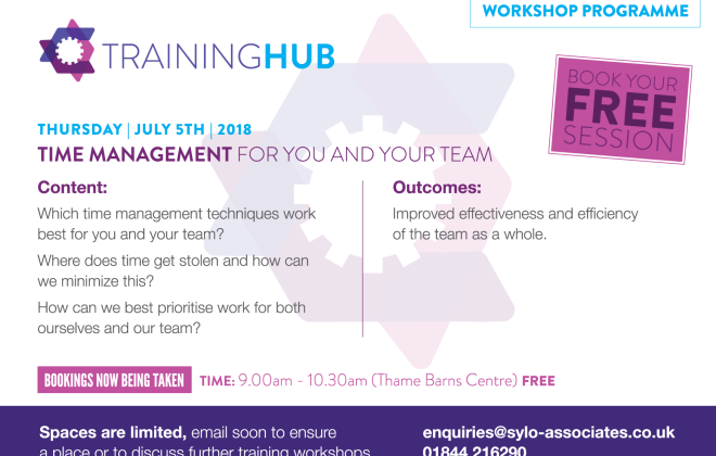 FREE Workshop - Time Management for You and Your Team