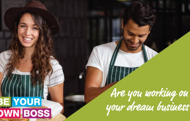 Be Your Own Boss 2 Day Course - June 2021