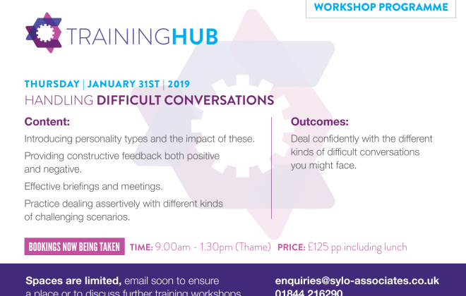 Handling Difficult Conversations Workshop