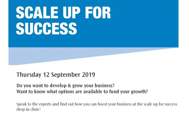 Scale up for success drop in clinic