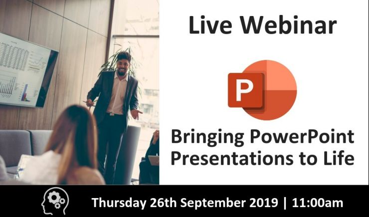 Bringing Presentations to Life with Microsoft PowerPoint