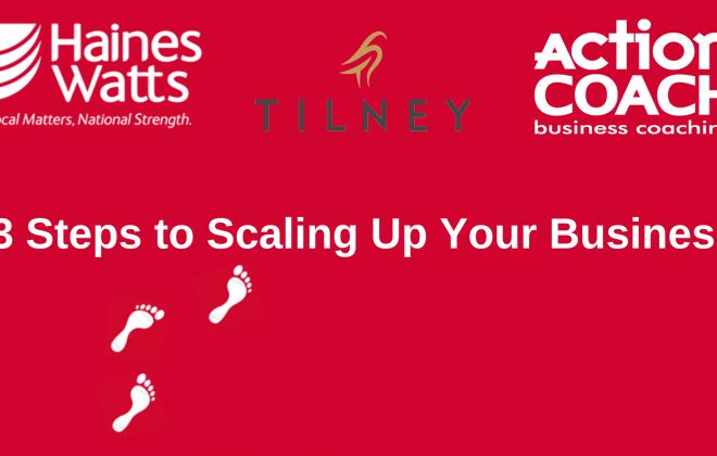 3 Steps To Scaling Up Your Business