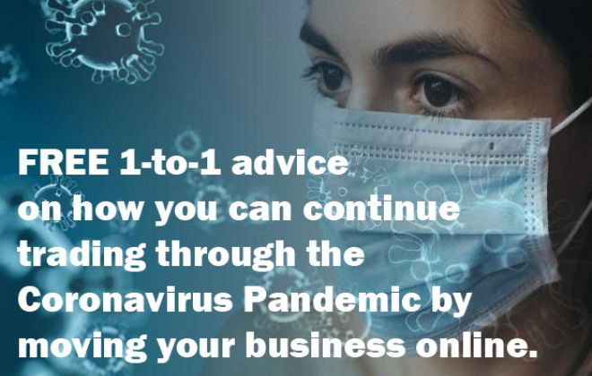 FREE 1-to-1 Skype consultancy - keeping your business trading through Coronavirus by introducing e-commerce
