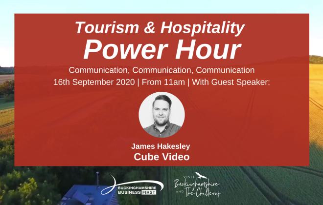 Tourism & Hospitality Power Hour - Sept 2020