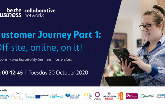 Customer Journey Part 1: Off-site, online, on it! - A Tourism and Hospitality Masterclass
