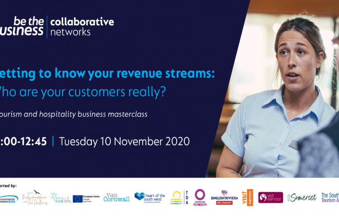 Getting to know your revenue streams: who are your customers really? - A Tourism and Hospitality Masterclass