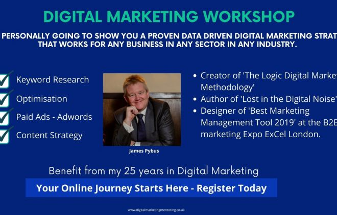 Digital Marketing Workshop - A Proven Digital Marketing Strategy
