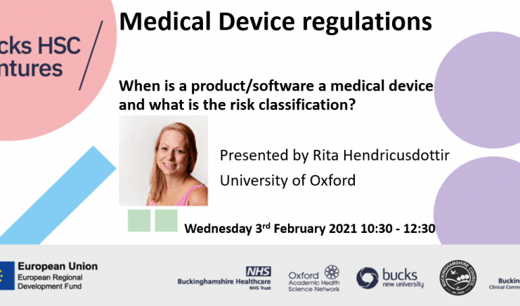Medical Device regulations – When is a product/software a medical device?