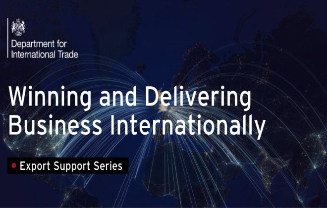 Winning and Delivering Business Internationally - Sept 2021