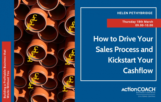 How to Drive Your Sales Process and Kickstart Your Cashflow!