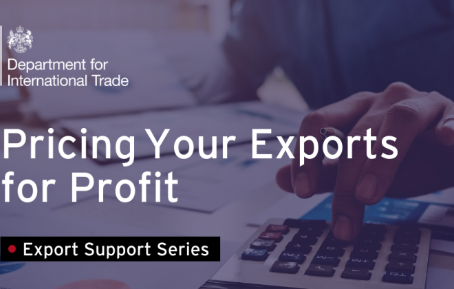Pricing Your Exports for Profit - Sept 2021