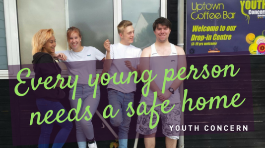 Join Youth Concern's youth homelessness initiative
