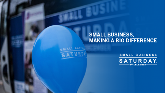 Small Business Saturday on the horizon