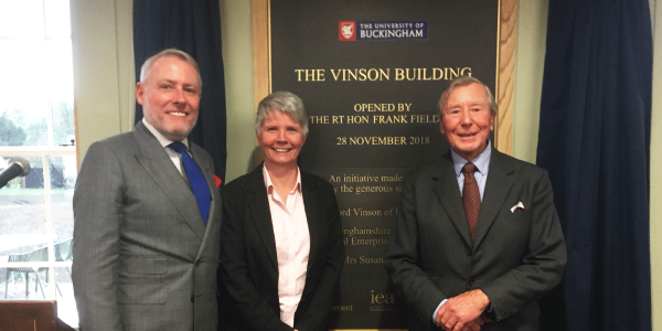 Launch of Vinson Centre for Economics and Entrepreneurship